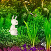 Free online html5 games - Easter Bunny Garden Escape game