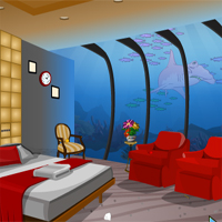 Free online flash games - Knf Underwater Restaurant Escape game - WowEscape