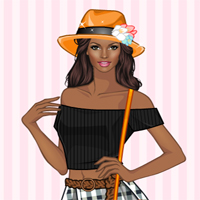 Free online flash games - Off-shoulder Dressup Games game - WowEscape