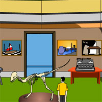 Free online flash games - Escape Game Museum game - WowEscape