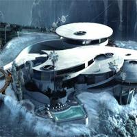 Free online flash games - Ena The Frozen Sleigh-Zeus Aircraft Escape game - WowEscape