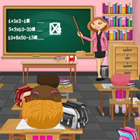 Free online flash games - Escape From Class Room game - WowEscape