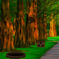 Free online html5 games - G2J Lion And Deer Escape  game