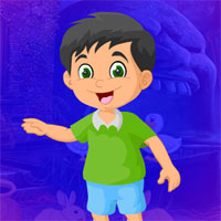 Free online flash games - G4K Lovely Smiling Boy
