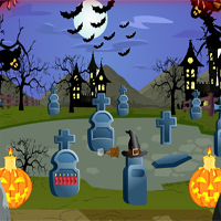 Free online flash games - Top10NewGames Find The Halloween Gift game - WowEscape