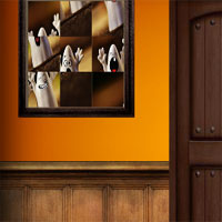 Free online flash games -  Amgel Halloween Room Escape 6  game - WowEscape
