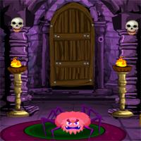 Free online flash games - Games4Escape Halloween Fear Door Escape game - WowEscape