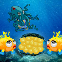 Free online flash games - Love Pearls Island Escape game - WowEscape