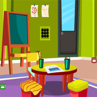 Free online flash games - Escape From Drawing Room