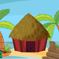 Free online flash games - AVMGames Beach Hut Escape