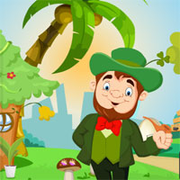 Free online flash games - Games4King Cartoon Leprechaun Rescue game - WowEscape