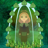 Free online flash games - Deep Forest Girl Rescue