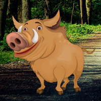 Free online flash games - Mangrove Forest Pig Escape