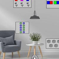 Free online flash games - G2J Escape From Black And White Avenue House game - WowEscape