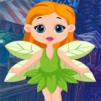 Free online flash games - Games4king Leaf Angel Rescue game - WowEscape