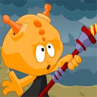 Free online flash games - Click Defense Green Danger game - WowEscape