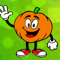 Free online flash games - G4K Delighted Pumpkin Escap