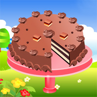 Free online flash games - Layered Caramel Candy Bar Cheesecake game - WowEscape