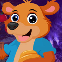 Free online flash games - G4k Brown Bear Rescue game - WowEscape