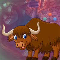 Free online flash games - G4K Brown Yak Escape game - WowEscape