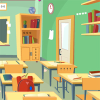 Free online flash games - GenieFunGames Class Room Escape game - WowEscape