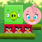 Free online flash games - Angry Birds Kick Piggies game - WowEscape