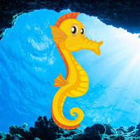 Free online flash games - Hiddenogames Easy Escape-Seahorse game - WowEscape