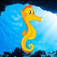 Free online flash games - Hiddenogames Easy Escape-Seahorse game - WowEscape