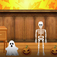 Free online flash games - Amgel Halloween Room Escape 7  game - WowEscape
