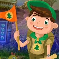 Free online flash games - G4k Flag Boy Rescue game - WowEscape