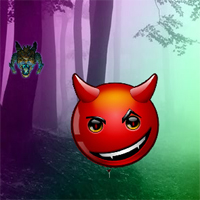 Free online flash games - BigEscapeGames Crazy Devil Forest Escape