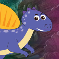 Free online flash games - G4K The Purple Dino Escape
