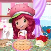 Free online flash games - Strawberry Shortcake Pie Recipe game - WowEscape