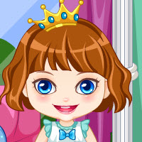 Free online flash games - Baby Princess Birthday Makeover  game - WowEscape