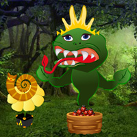 Free online flash games - Carnivorous Plant Hungry Escape game - WowEscape