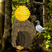 Free online flash games - Wowescape Honey Hive Forest Escape game - WowEscape