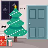 Free online flash games - Christmas Fireplace Quick Escape