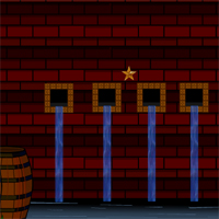 Free online flash games - AvmGames Brick Door Escape game - WowEscape