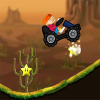 Free online flash games - Baldheaded Strong SUV game - WowEscape