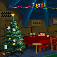 Free online html5 games - Games4Escape Xmas Celebration Escape game