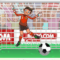 Free online flash games - Ragdoll Goalie game - WowEscape
