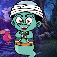 Free online flash games - G4K Little Genie Escape