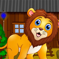 Free online flash games - AVM Rescue the Forest Lion game - WowEscape