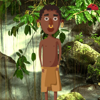 Free online flash games - Wowescape Tribe Kid Escape game - WowEscape