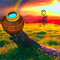 Free online flash games - Wow Escape from Rainbow Valley game - WowEscape