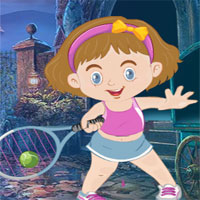 Free online flash games - G4K Baby Tennis Player Rescue