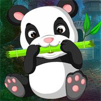 Free online flash games - G4k Guzzle Panda Rescue game - WowEscape