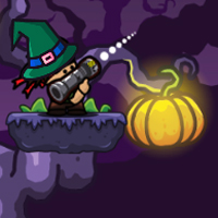 Free online flash games - Bazooka And Monster Halloween game - WowEscape