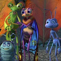 Free online flash games - Bugs Life Numbers game - WowEscape