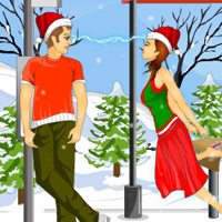 Free online html5 games - Bus Stop Kisses game